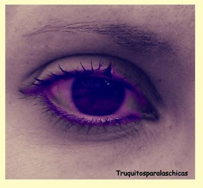 ojos con eyeliner