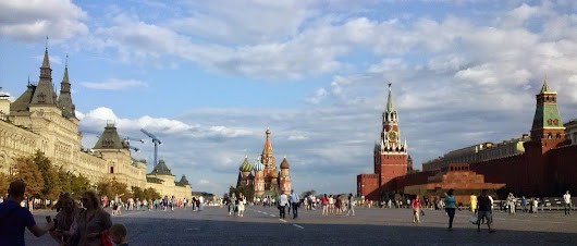 Visit to Russia — Susana's travelogue