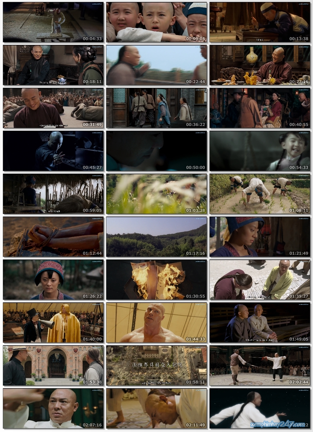 http://xemphimhay247.com - Xem phim hay 247 - Hoắc Nguyên Giáp (2006) - Fearless (2006)