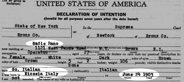 naturalization papers provide many key facts