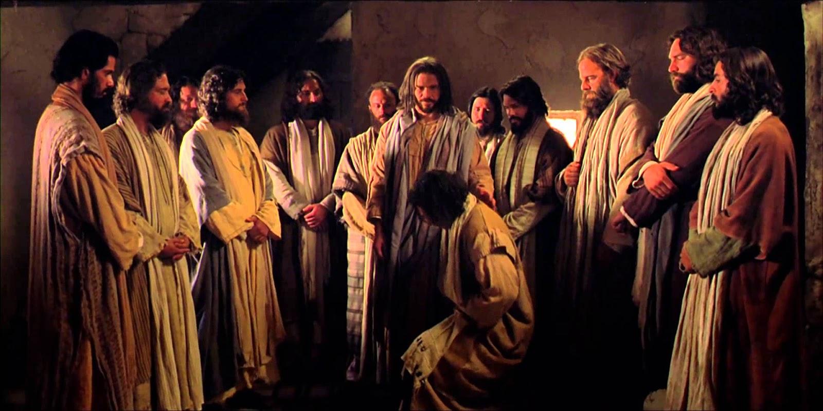 Jesus e os 12 apóstolos