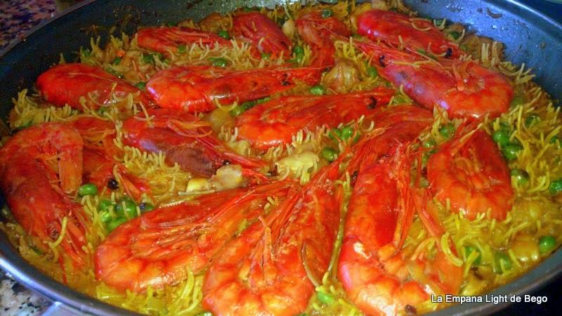 receta-de-fideua-rapida-con-gamba-roja