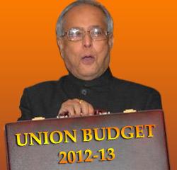 INDIAN BUDGET 2012 13 PDF