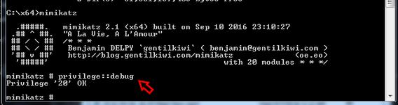 سرقة كلمة السر ب استخدام mimikatz كما حدث في فيلم Mr. Robot
