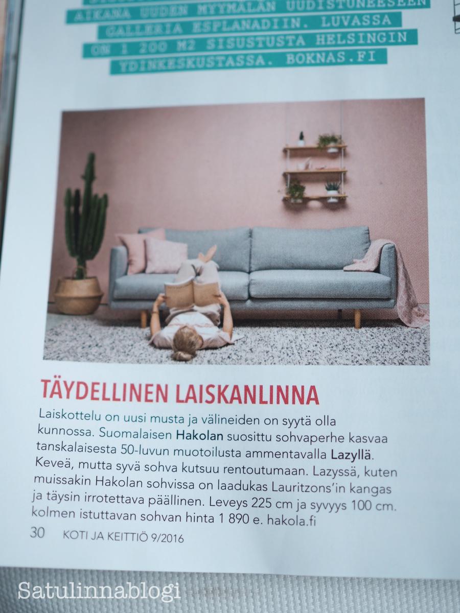 lazy sohva