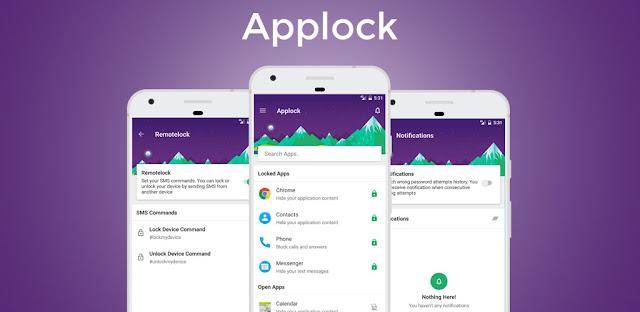 برنامج Material Lock – Applock & Fingerprint Lock PRO للأندرويد
