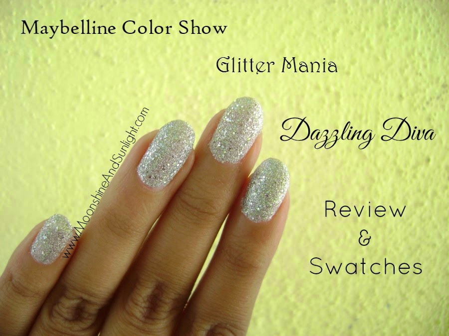 Maybelline ColorShow Glitter Mania Dazzling Diva 602 Review and Swatch