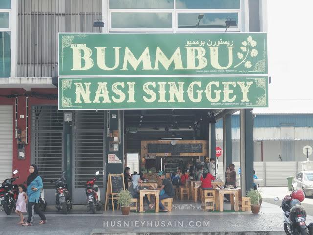 Bummbu Nasi Singgey - Hidangan Lauk Singgang Menu Tengahari Best Di Kuantan
