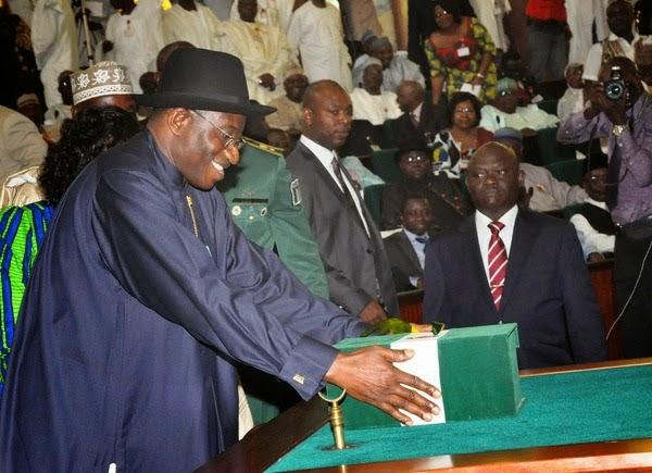 president jonathan add to 2014 budget