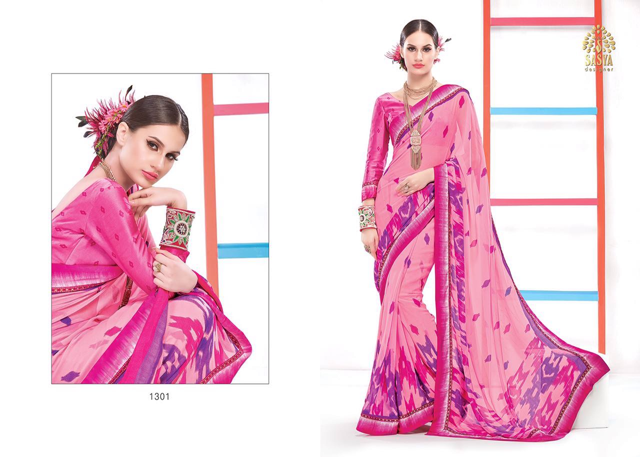 Flora – Most Beautiful Printed Saree Wholesale Supplier