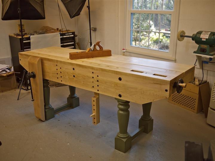 brese plane new bench is finished jameel comes to visit. Black Bedroom Furniture Sets. Home Design Ideas