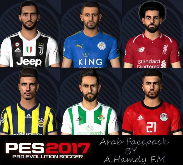 Arab Facepack 2018 PES 2017