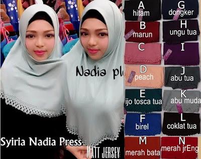 Grosir Jilbab Nadia Press