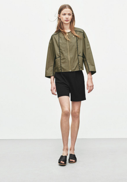 Cotton Zip Jacket by Filippa K