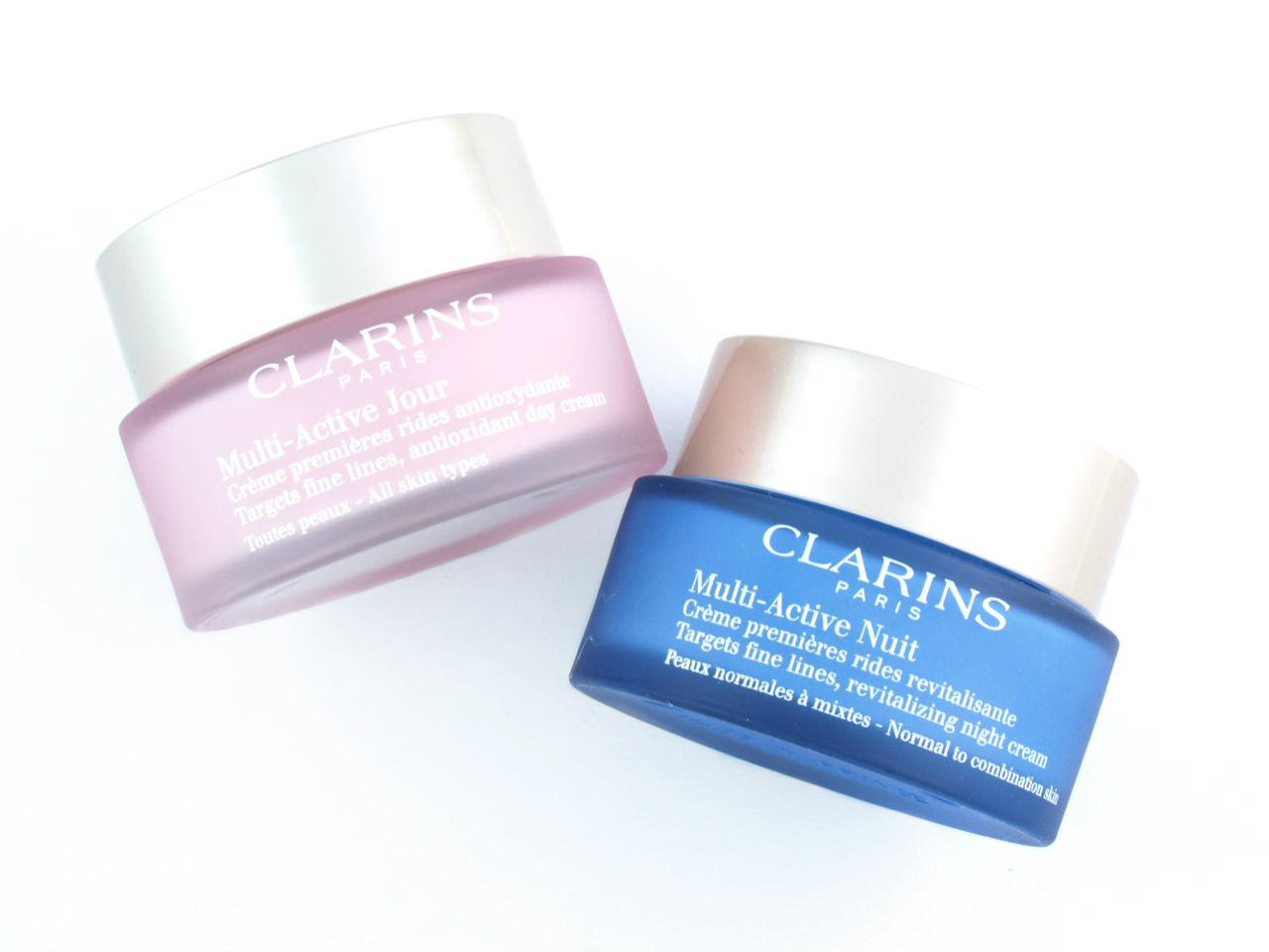 clarins mission perfection serum multi active day night creams review the happy sloths. Black Bedroom Furniture Sets. Home Design Ideas