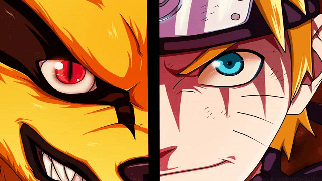 Persahabatan Naruto dan Kurama