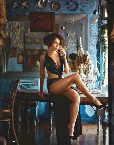 Kangna Ranaut Sizzling Photo Shoots Navel Queens