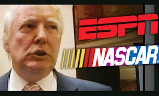 Trump, NASCAR and ESPN