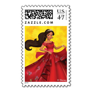 Disney Princess Elena of Avalor Postage Stamps for an Elena of Avalor Party