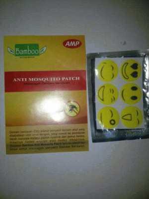 Stiker Bamboo AMP Anti Nyamuk