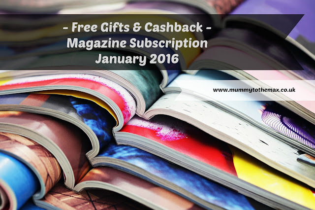 Magazine Subscription Free Gift Bargains January 2016