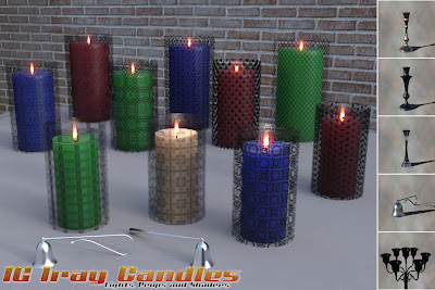 IG Iray Lights and Shaders - Candles