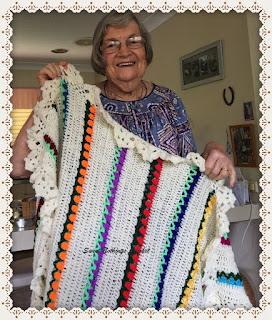 free crochet pattern, free crochet blanket pattern, free crochet tulip blanket, crochet afghan,