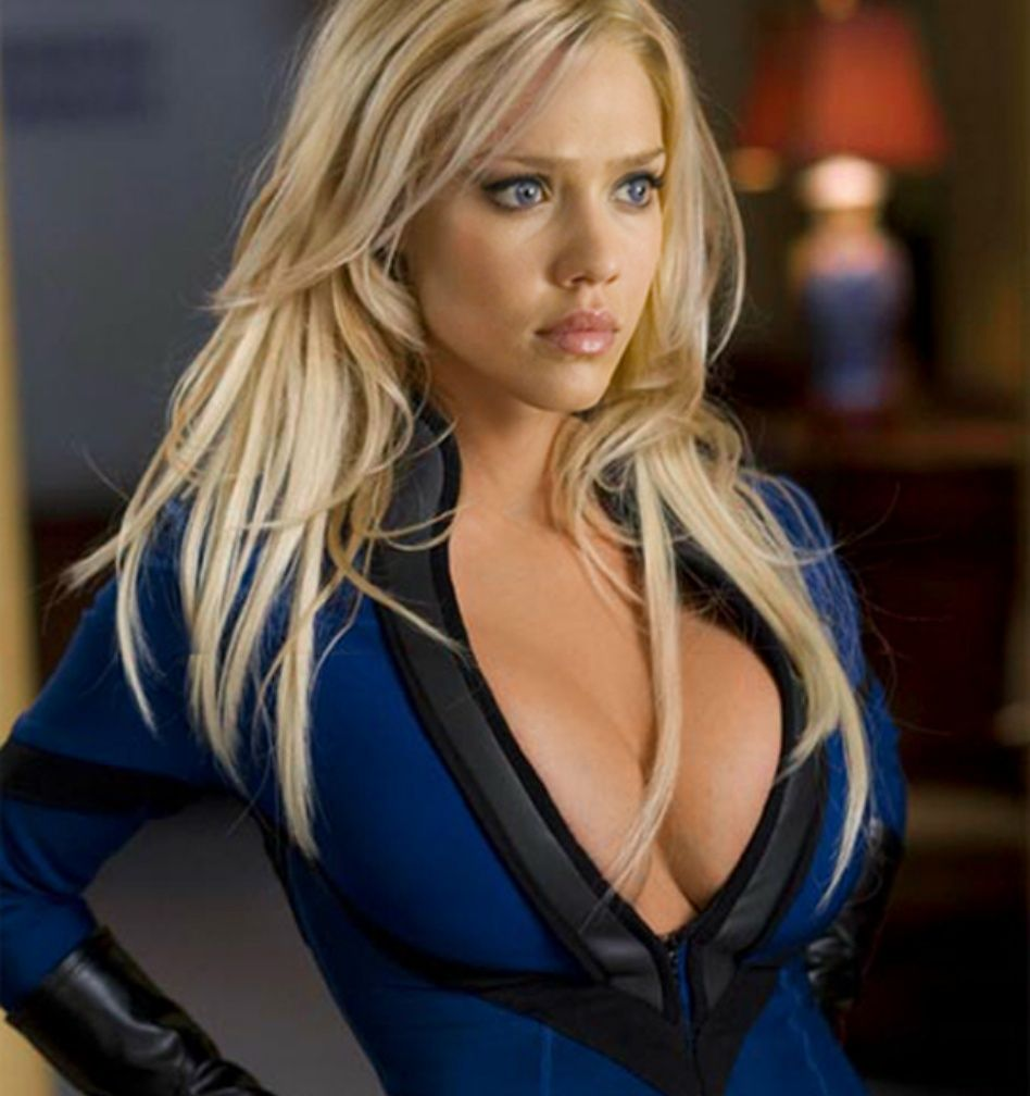 Jessica Alba as Sue Storm in The Marvel Cinematic Universe, The Fantastic Four's invisible woman  (2005)