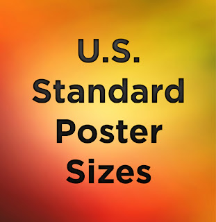 standard poster size 1 resource for poster sizes paper sizes
