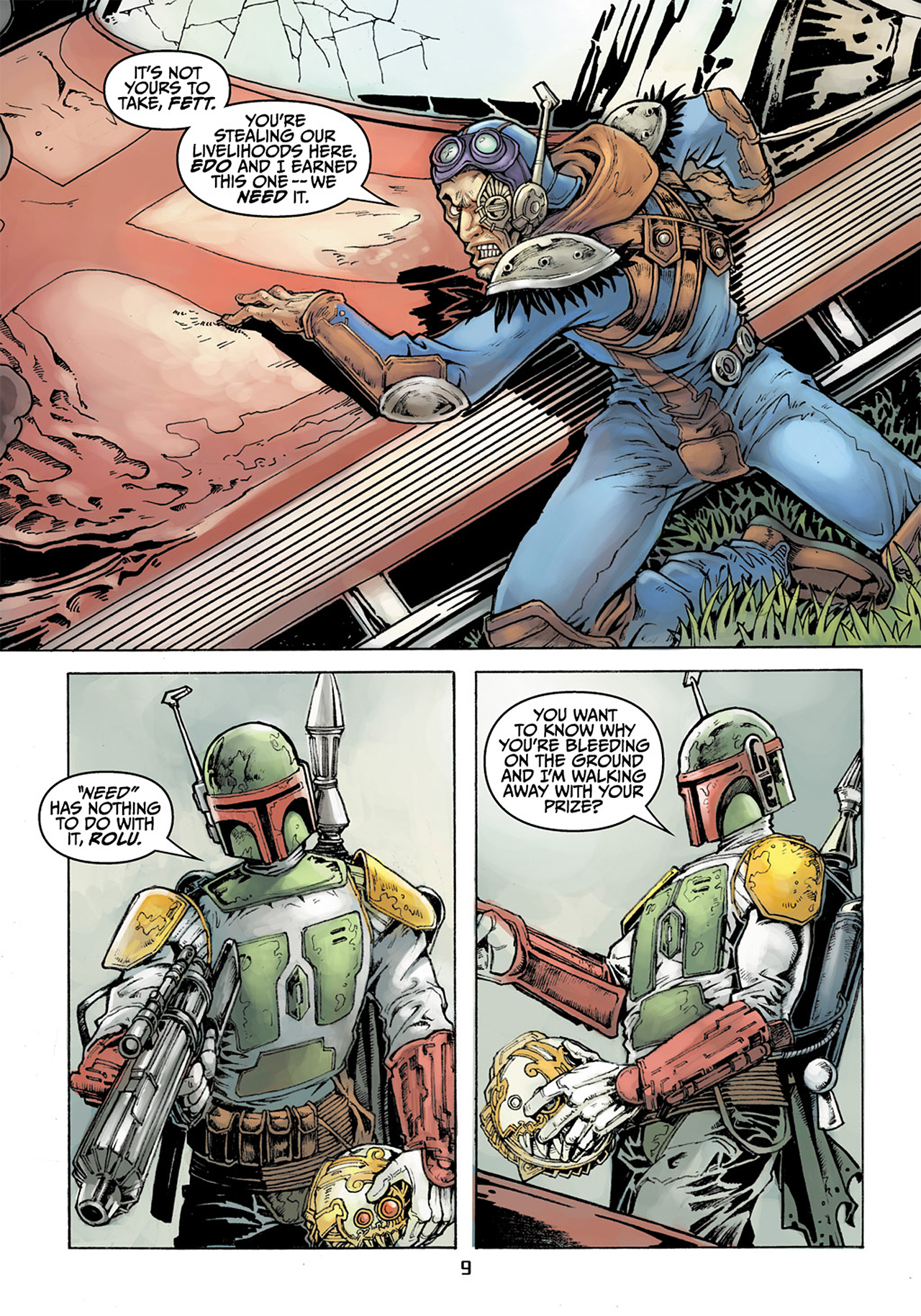 Read online Star Wars Adventures comic -  Issue # Issue Boba Fett and the Ship of Fear - 10