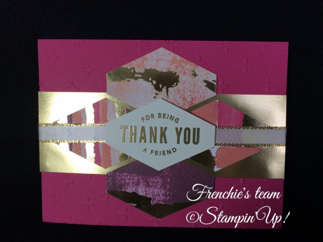 Painted with Love, Truly Tailored, Sale a Bration and Occasion Stampin'Up! 2018, Frenchie stamps in the Spotlight,