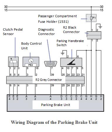 renault brake light wiring diagram  | 382 x 452