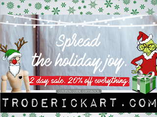 spread the holiday joy give the gift of art troderickart.com