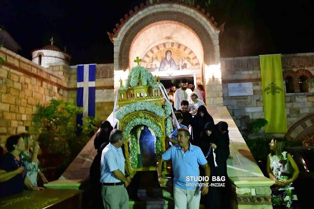 Η Αργολίδα γιορτάζει τον προστάτη της Άγιο Θεοδόσιο (βίντεο)