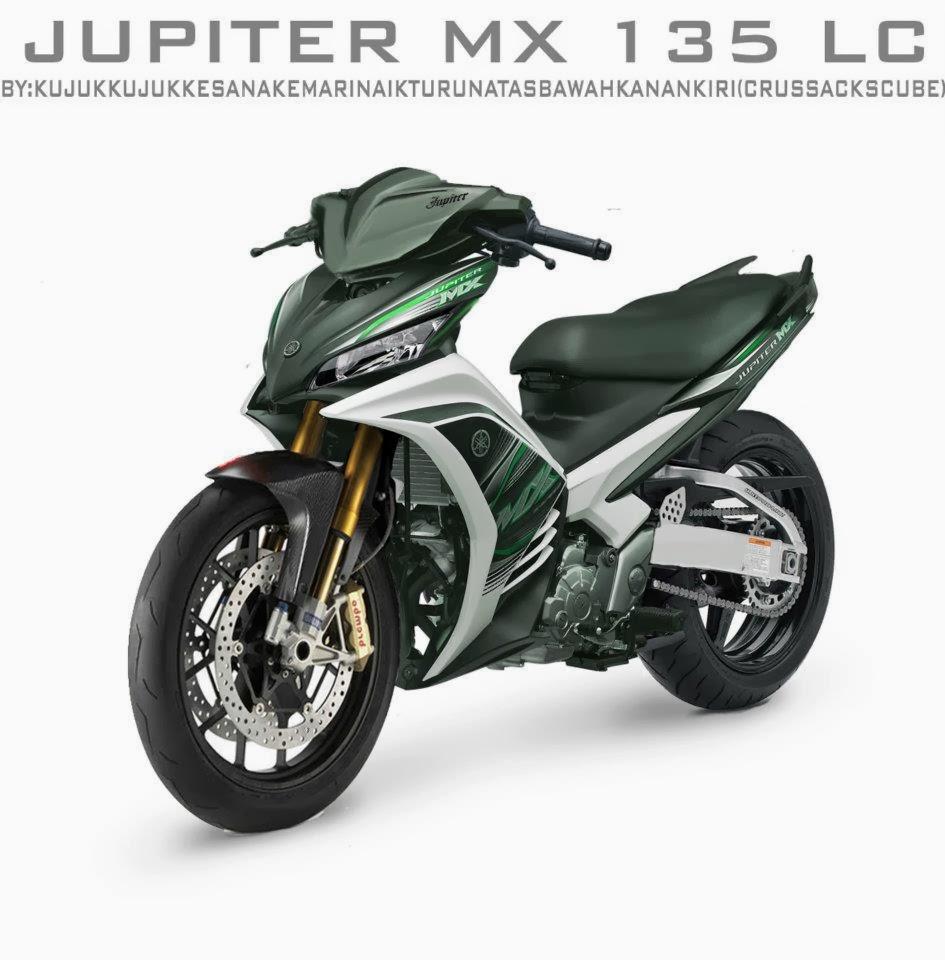 Jupiter MX  Modifikasi Jupiter MX Ter Update 2014