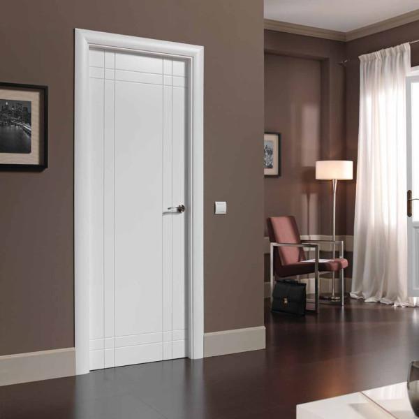 Marzua puertas interiores for Puertas de madera interiores modernas