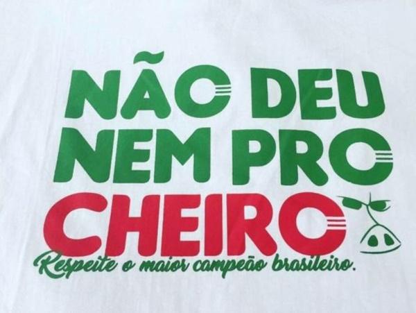 Vaza imagem de suposta camisa comemorativa do time do Palmeiras
