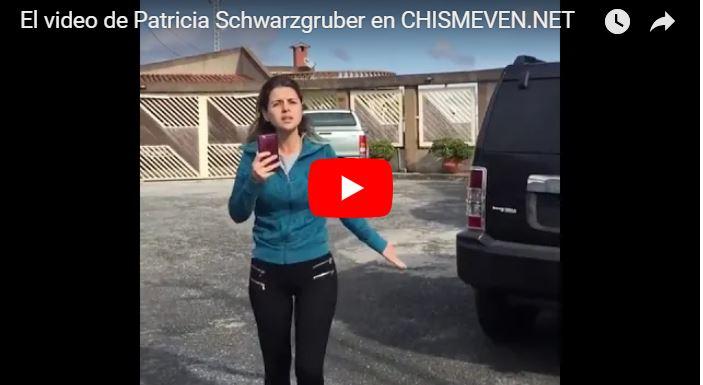 La gente pendiente de la vida de la putilla de Patricia Schwarzgruber y el país se cae