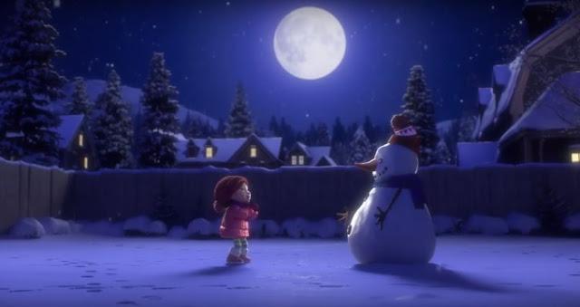 BINTEO. Το κορίτσι και ο χιονάνθρωπος. Μια συγκινητική μικρού μήκους ταινία κινουμένων σχεδίων που μας θυμίζει να διαθέσουμε χρόνο για όσους και ότι αγαπάμε πραγματικά. Κάτι που δυστυχώς ξεχνάμε όσο μεγαλώνουμε.