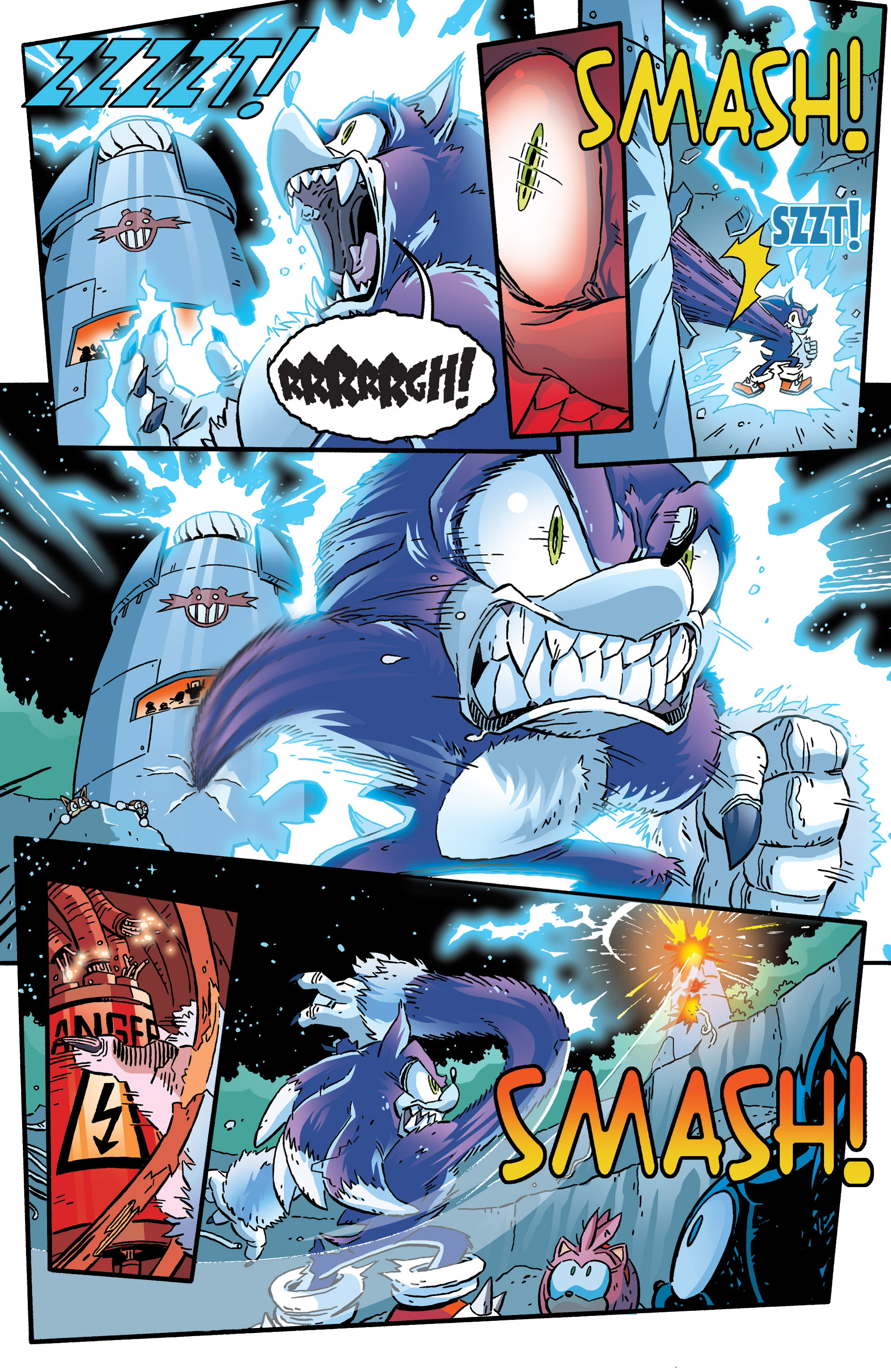 Read online Sonic The Hedgehog comic -  Issue #265 - 4