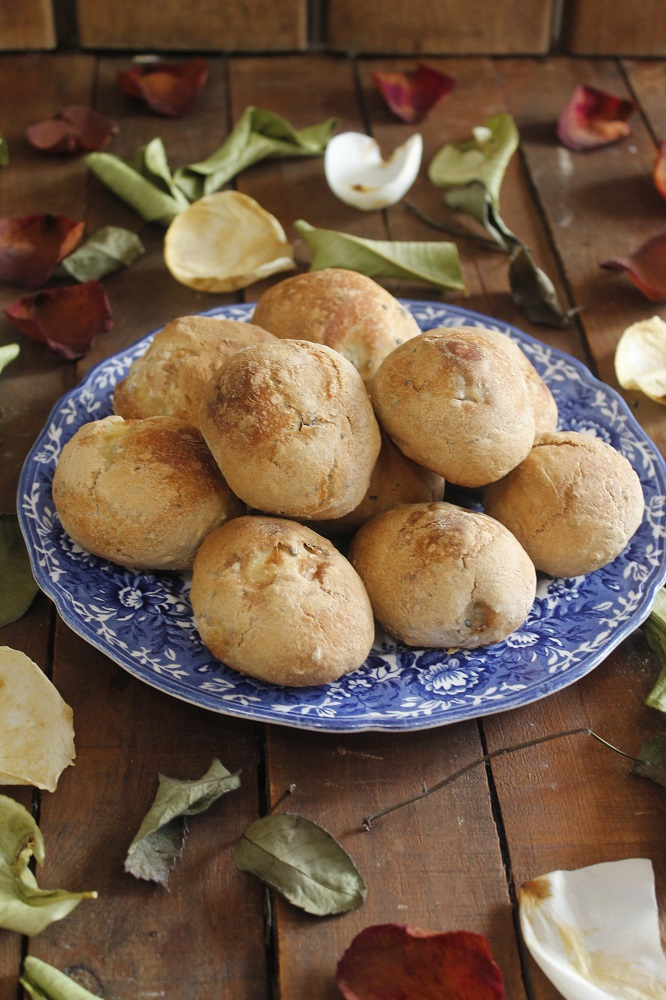 Patatas En Costra De Pan