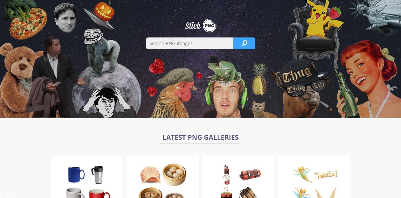 StickPNG 另類透明背景免費圖庫,16000話題人物去背照下載