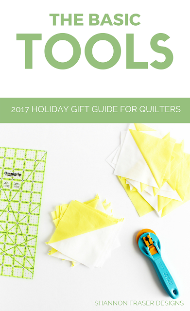 The Basic Tools | Ultimate gift guide for the modern quilter in your life | Books, Gift Cards, Tools & Notions are just some of the categories covered in these Christmas gift ideas