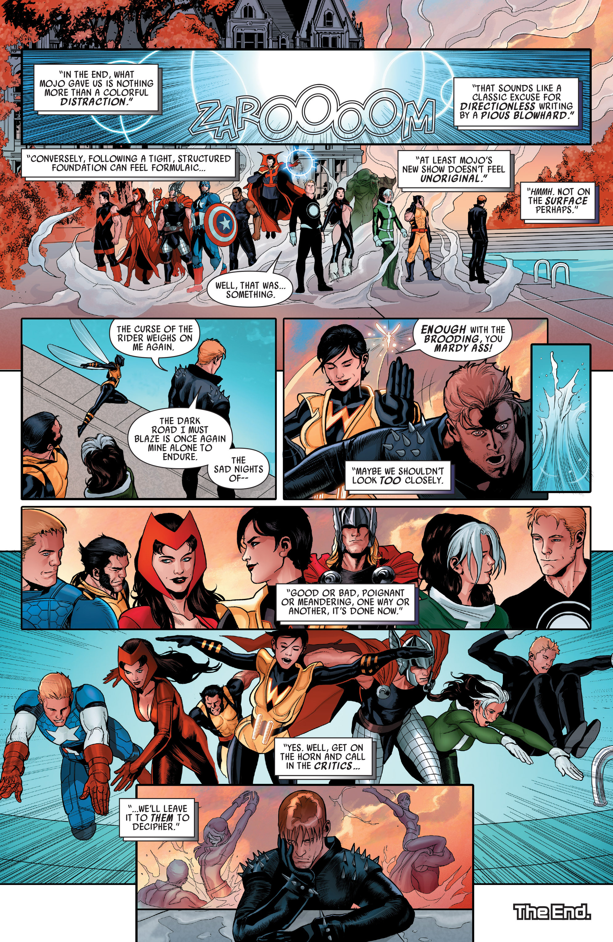 Read online Uncanny Avengers (2012) comic -  Issue # Annual 1 - 33