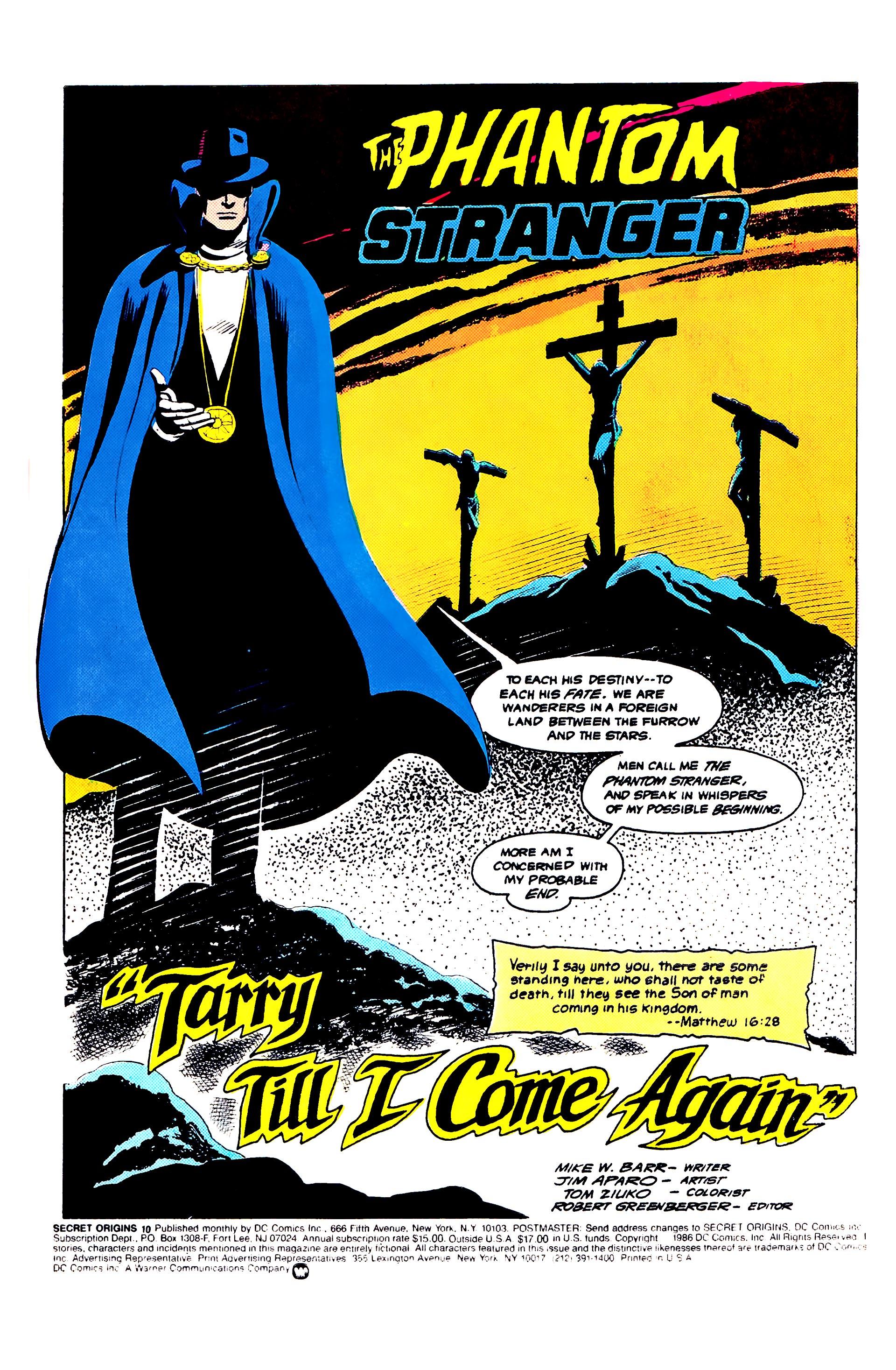 Read online Secret Origins (1986) comic -  Issue #10 - 3