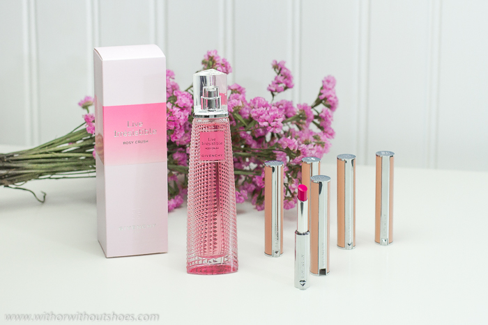 Maquillaje perfume I Believe in Pink de Givenchy Beauty
