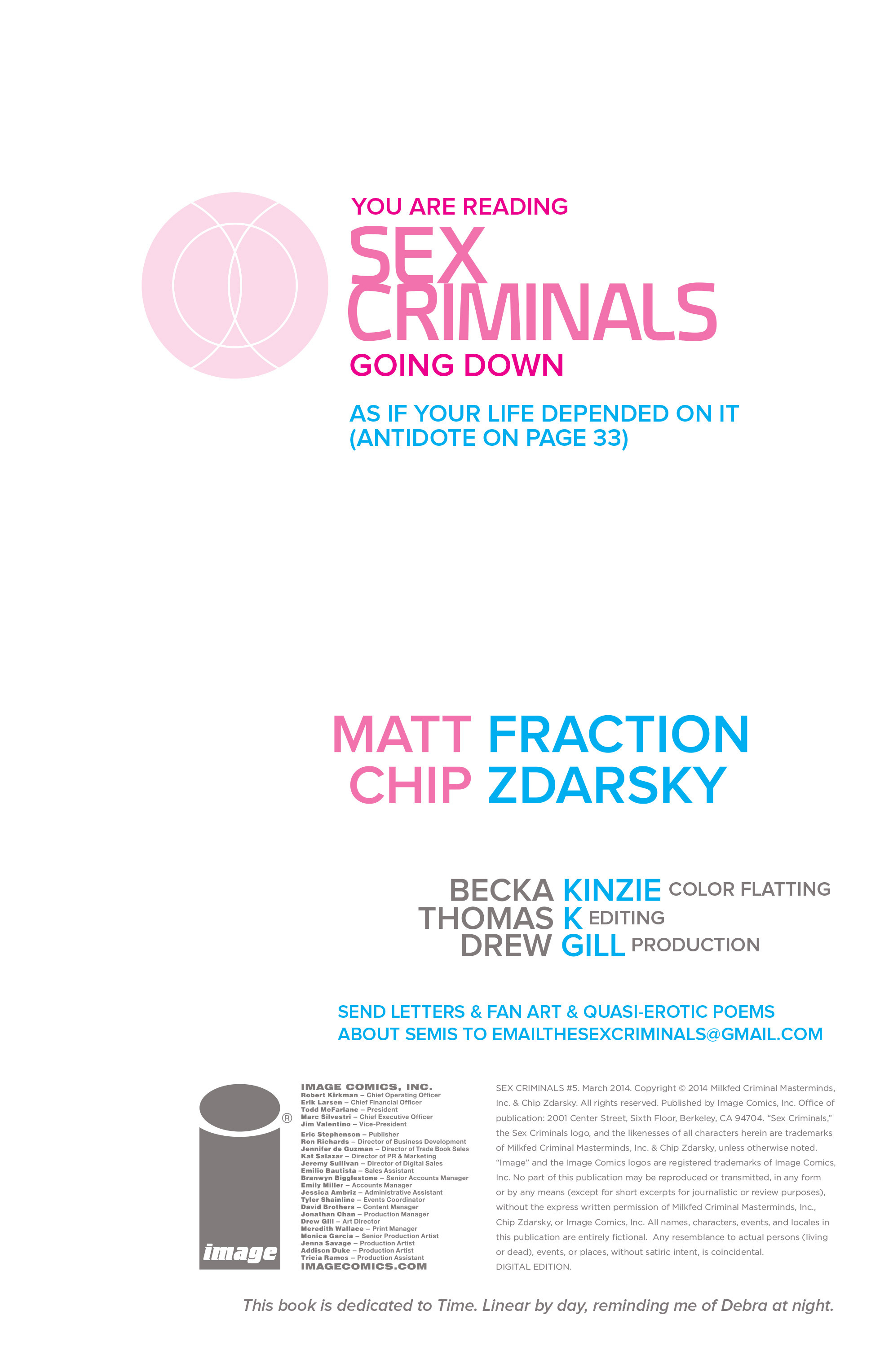Read online Sex Criminals comic -  Issue #5 - 2