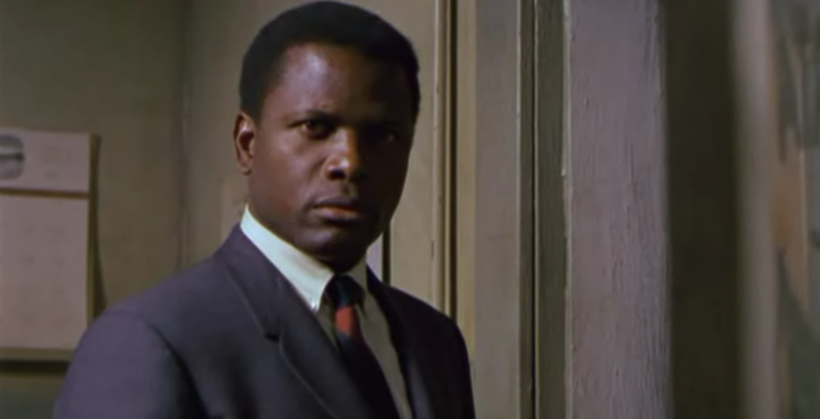 Image result for sidney poitier and rod steiger in the heat of the night