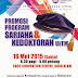 Yuran Kemasukan Percuma di Event Promosi Master Dan PhD UiTM 2015
