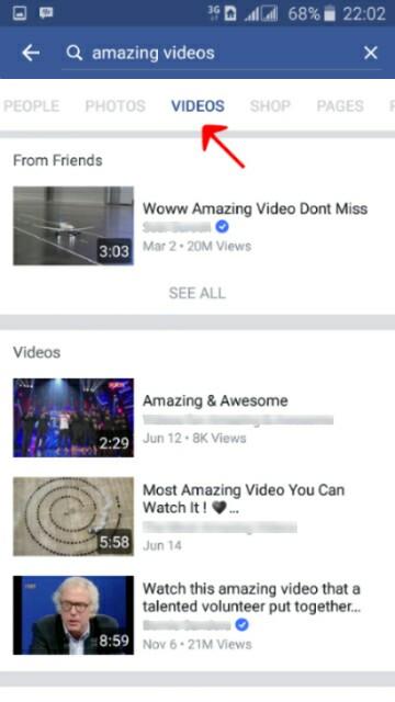 Hasil pencarian video